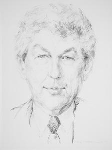 Portret van Willem Kok (1938- )
