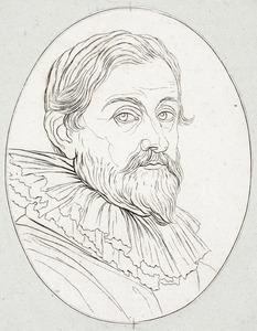 Portret van Pieter de Jode II (1606-....)