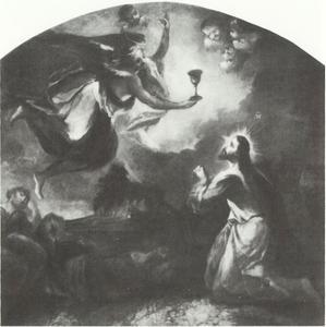 Christus in het hof van Olijven te Gethsemane
