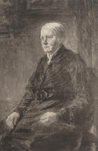 Portret van Sina van Houten (1834-1909)
