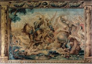 De dood van Decius Mus in de slag bij Veseris