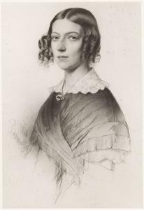 Portret van Maria Henriëtta barones van Tuyll van Serooskerken (1815-1849)
