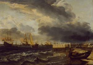 Vloot voor de kust van Den Helder
