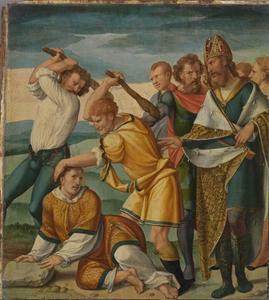 De martelgang van de Heilige Cyriacus
