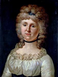 Portret van Catharina Frederica Cornelia van Hangest d' Yvoy (1760-1820)
