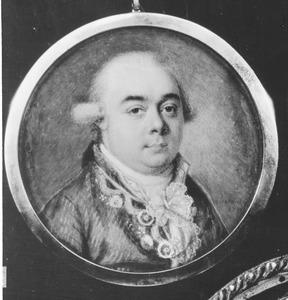 Portret van Sebastiaan Cornelis Nederburgh (1762-1811)