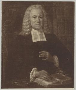 Portret van Sebald Godfried Manger (1703-1795)