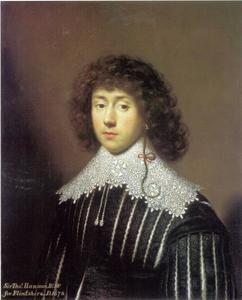Portret van Sir Thomas Hanmer, 2nd Baronet (1612-1678)
