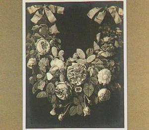 Guirlande van bloemen