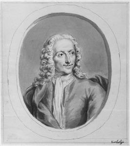 Portret van de schilder Isaac Walraven (1686-1765)