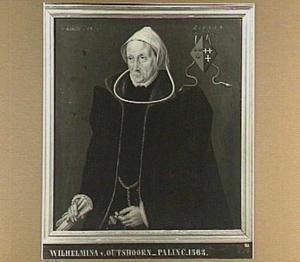 Portret van Wilhelmina van Palinc (1499-1567)