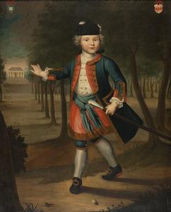 Portret van Jan Carel van der Muelen (1738-1828)