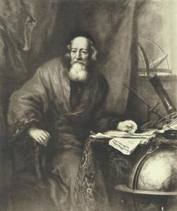 Portret van Johan Heinrich Voigt (1613-1691)