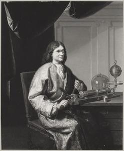 Portret van Johan Joosten van Musschenbroek (1660-1707)