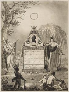 Gedenkzuil met portret van Joost Isaac Cremer (1761-1807)