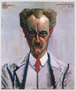 Portret van Arthur Francois Emile van Schendel (1874-1946)