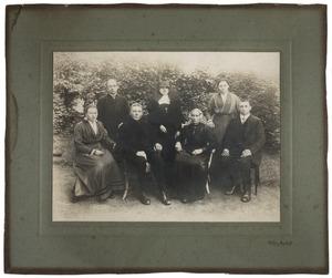 Portret van familie Ammerlaan