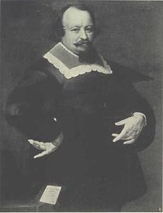 Portret van Adolphus Munster