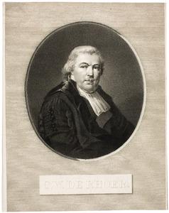 Portret van Cornelis Willem de Rhoer (1751-1821)
