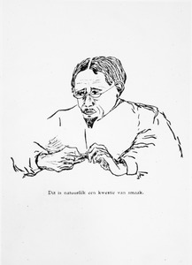 Portret van Willem Marie de Vries (1871-1935)