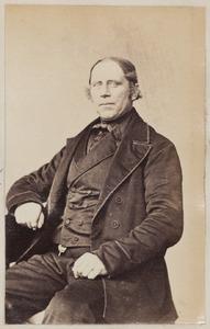Portret van Klaas Roelofs Lettinga (1814/1815-1887)