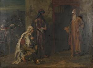 De Leviet van Efraïm en de oude man van Gibea