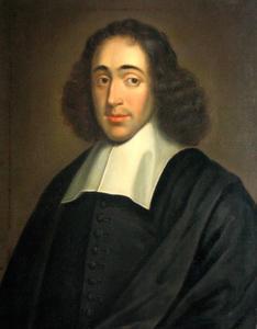 Portret van Benedictus (Baruch) Spinoza (1632-1677)