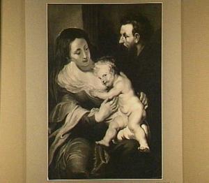 Maria, Jozef en kind
