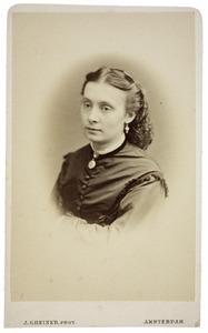 Portret van Johanna Hendrika Dikkers (1850-1935)