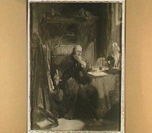 Portret van J. Immerzeel