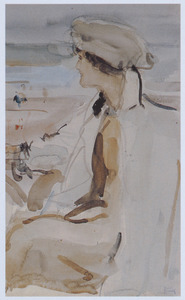 Portret van Lola Cornero (1892-1980)