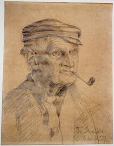 Portret van een Katwijkse man