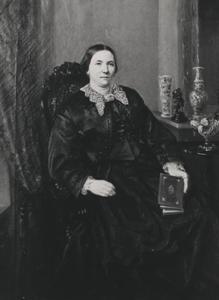 Portret van Cornelia Georgette 's Gravesande Guicherit (1823-1896)
