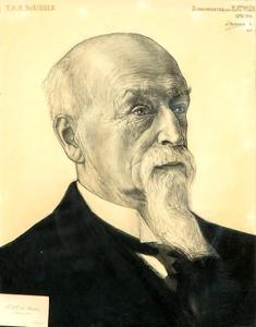 Poprtret van Tieleman Albertus Otto de Ridder (1843-1914)