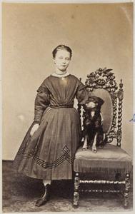 Portret van Clara van Sminia (1857-1887)