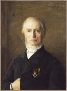 Portret van Simon van Velzen (1809-1896)