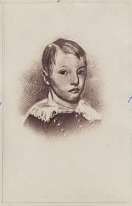Portret van een jongen uit familie Rengers