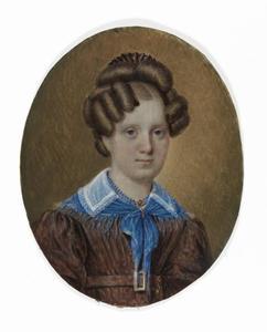 Portret van Cornelia Templeman van der Hoeven (1809-1832)