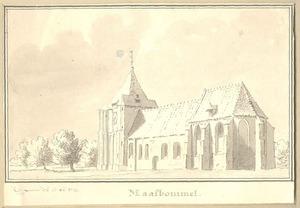 Maasbommel, gezicht op de kerk