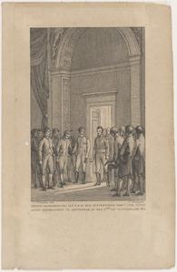 Eerste gehoorgeving van Z.K.H. den souvereinen vorst der Verenigde Nederlanden te Amsterdam (2 december 1813)