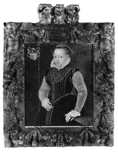 Portret van Agnes van Haeften (1547-1587)