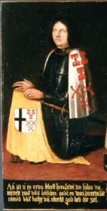 Portret van Steven van Zuylen van Nijevelt ( -1527)
