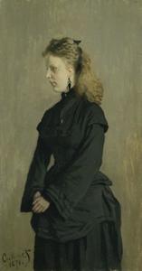 Portret van Guurtje van de Stadt (1854-1936)