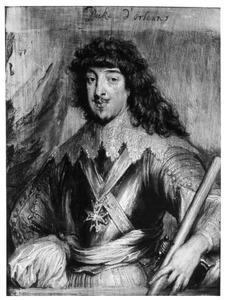 Portret van Gaston, Duc d'Orléans (1608-1660)