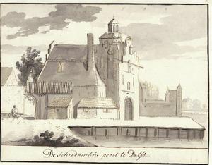 De Schiedamse Poort te Delft
