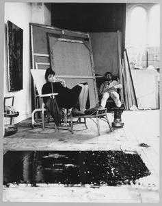 Franck Gribling, 'After a hard days work dans la vie du bohème