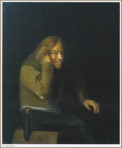 Lachende jonge man