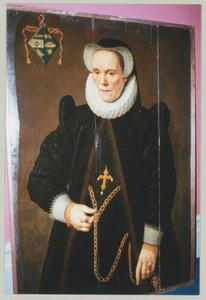 Portret van Catharina van Damme