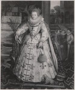 Portret van Elisabeth I Tudor (1533-1603), koningin van Engeland