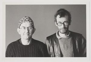 Portret van Hans van Hoek en Axel van der Kraan